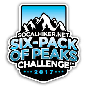 2017 SoCal Six-Pack of Peaks Challenge