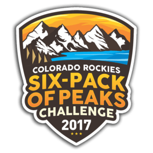 2017 Colorado Rockies Six-Pack of Peaks Challenge