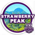 I hiked Strawberry Peak
