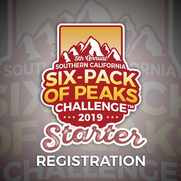 2019 SoCal Six-Pack of Peaks Starter Registration