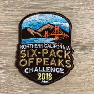 2018 NorCal Six-Pack of Peaks Patch