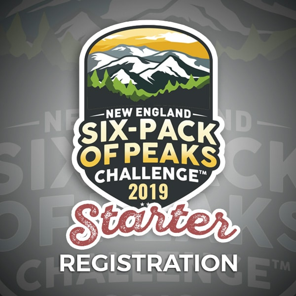 2019 New England Six-Pack of Peaks Challenge Starter Registration
