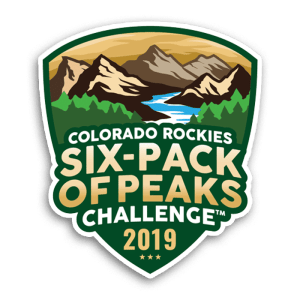 Colorado Rockies Six-Pack of Peaks Challenge
