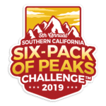 2019 SoCal Six-Pack of Peaks Challenge