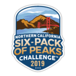 2019 NorCal Six-Pack of Peaks Challenge logo
