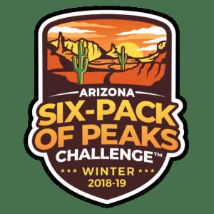2018/19 Arizona Winter Six-Pack of Peaks Challenge logo