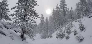 Made an attempt at Mt Pinos yesterday knowing we were in for rain and snow all over SoCal. So I was
