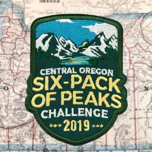 2019 Central Oregon Six-Pack of Peaks Challenge Patch