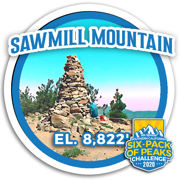 I hiked Sawmill Mountain