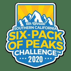 2020 SoCal Six-Pack of Peaks Challenge logo