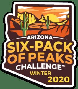 2020 Arizona Winter Six-Pack of Peaks Challenge logo