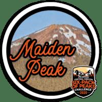 2020 Maiden Peak Badge