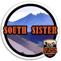 2020 South Sister Badge