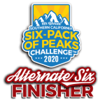 2020 SoCal Alternate Six Finisher