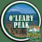 2020 O'Leary Peak badge