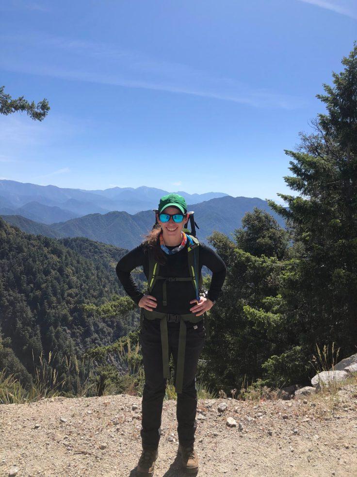 Patty-Climbing-up-Mt.-Wilson