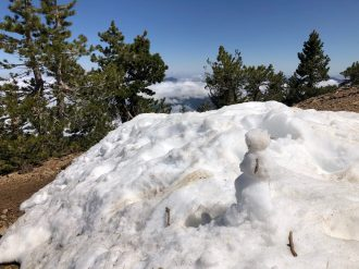 Snowman-on-the-trail