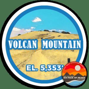 2021 Volcan Mountain