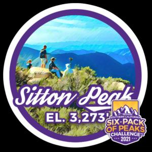 2021 Sitton Peak badge