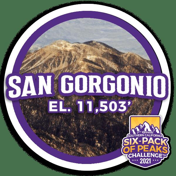 2021 San Gorgonio badge