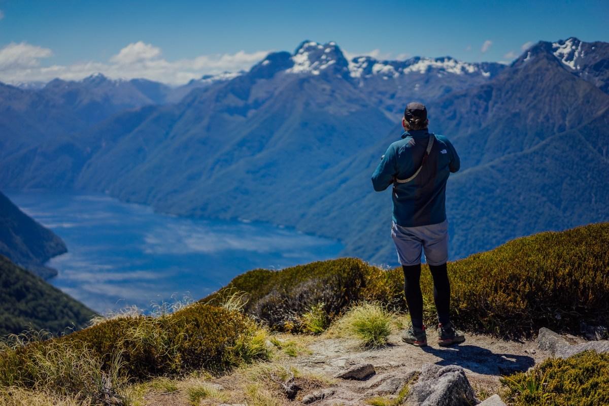 Trektocht in Nieuw Zeeland