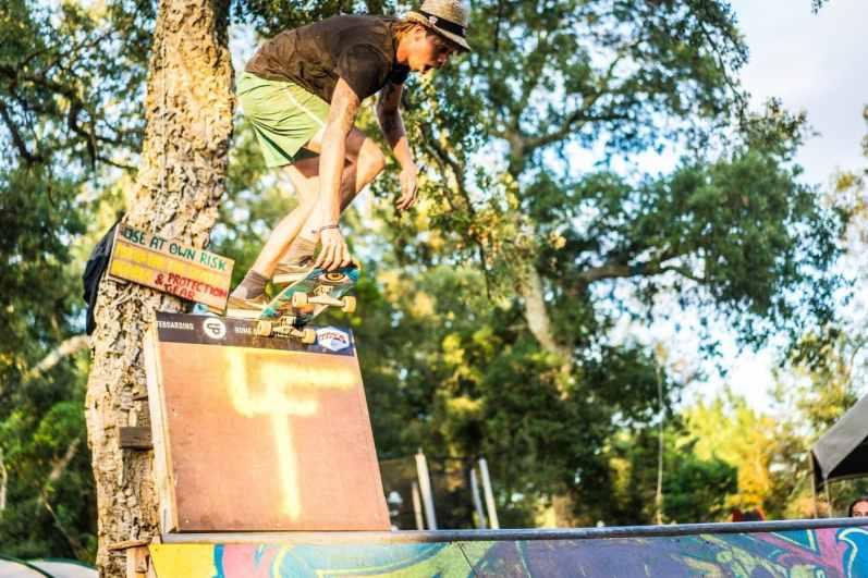 De skatecontest is een wekelijkse topper
