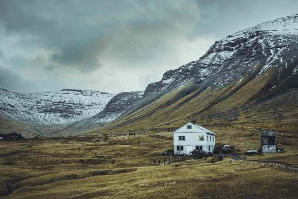 huizen Faeröer eilanden