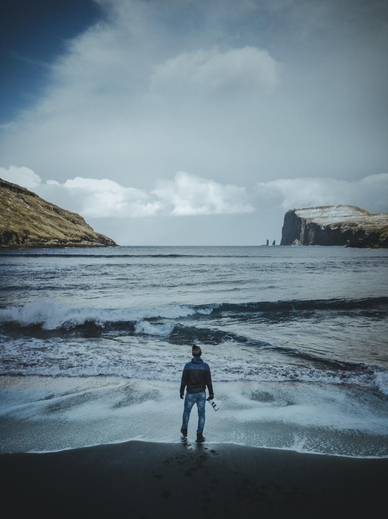 surfen op Faroer eilanden