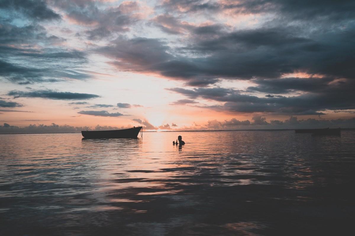 visvangst in Mauritius