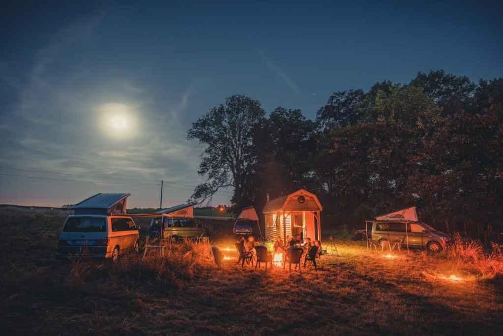 kamperen in belgie