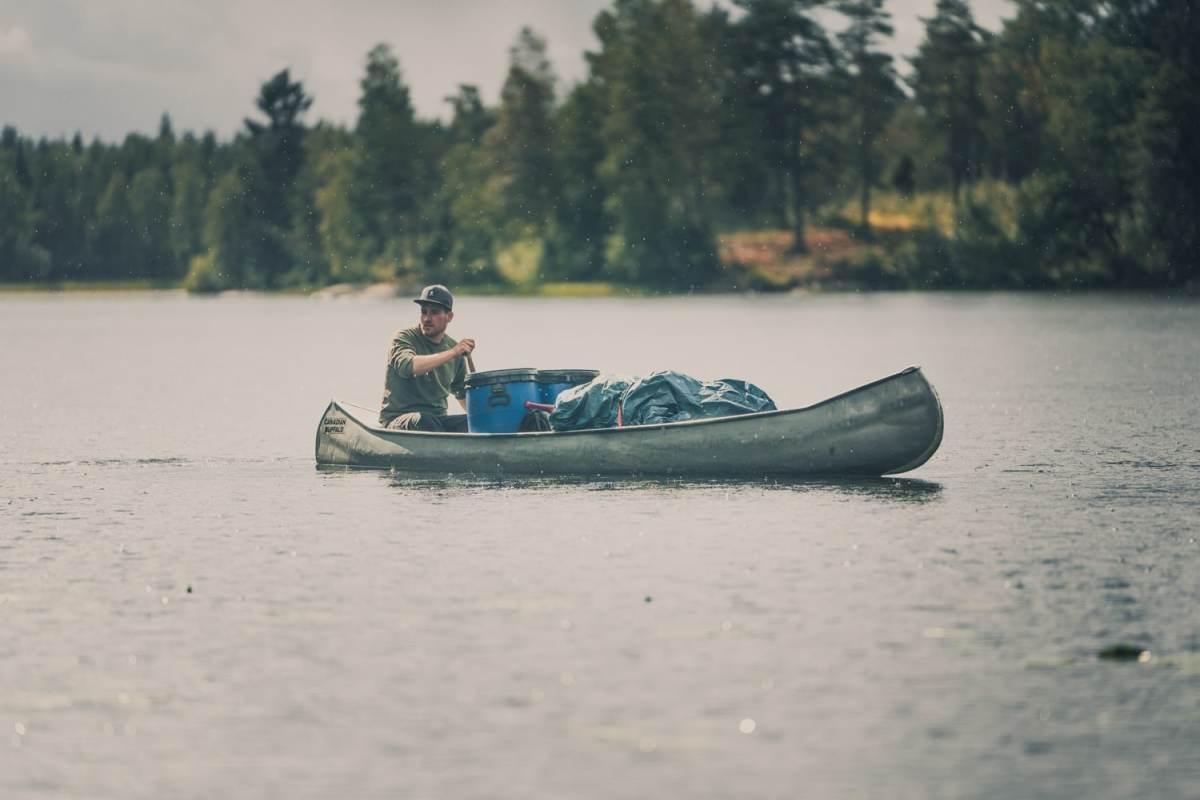 kanotochten in zweden