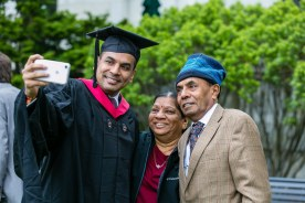Student and family
