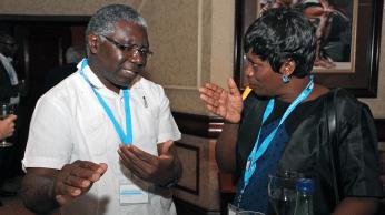 Johnstone Kumwenda and Rosemary Musonda