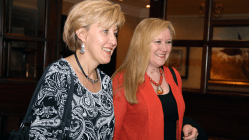 Connie Sexton and Pam Bachanas