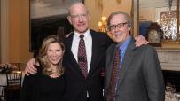 Cathy Graham, Stephen Graham and Joe Armstrong