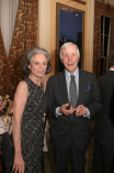 Mr. and Mrs. William McCormick Blair, Jr., the evening's co-hosts