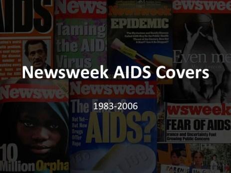 Newsweek covers Title slide