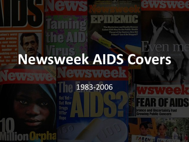 Newsweek covers Title slide