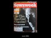 Newsweek Cover June 2001