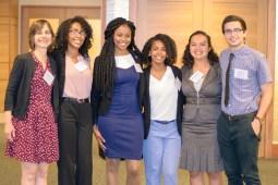 Dr. Betensky with five 2016 participants: M. Fernandes, J. Walker, D. Washington, R. Loving, M. Ruprecht (L-R)