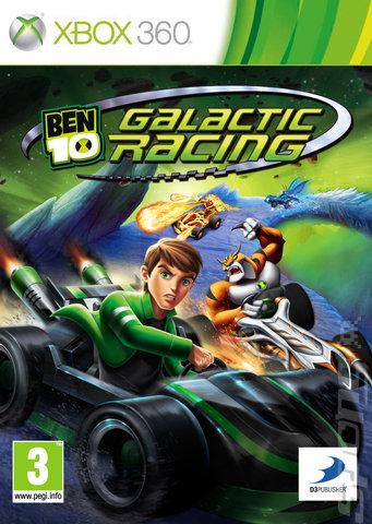 Ben 10 Galactic Racing Xbox 360   - BEN 10: GALACTIC RACING (REGION FREE) XBOX 360