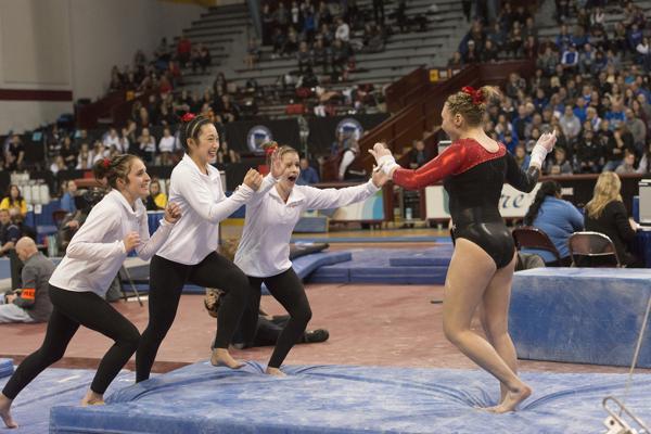 Stillwater drives to a gymnastics title