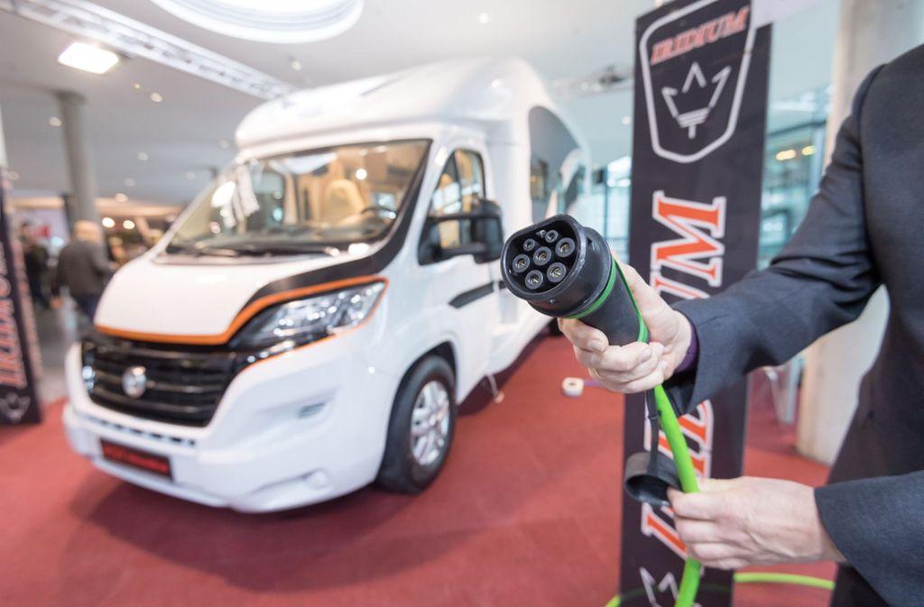 Wohnmobil mit Elektroantrieb von der Firma Iridium Wohnmobile