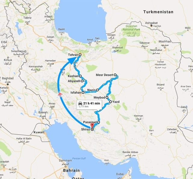 Discover the Beauty of Persia in 15 Days