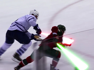 Video: The Minnesota Wild made a great Star Wars tribute ...