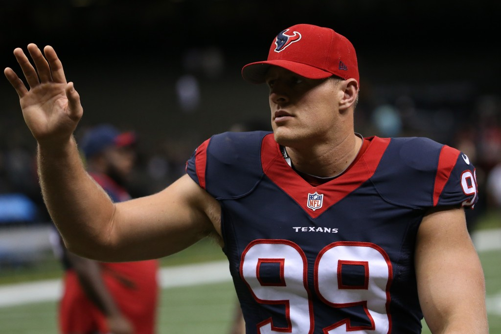 JJ Watt Donates 10K To Injured High School Player In A Coma