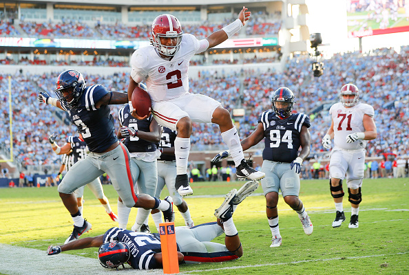Alabama shines in comeback as Ole Miss gets in its own way