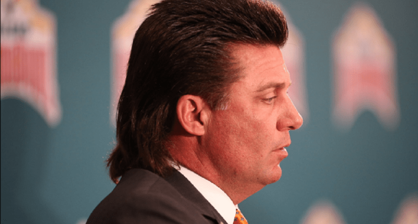 Image result for mike gundy hair