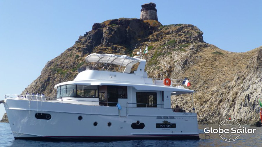Rental Swift Trawler 50 From The Charter Base Propriano In