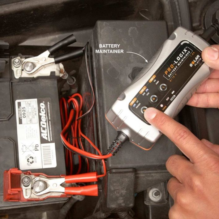 Keep Batteries Charged